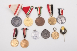 11 x Imperial medals