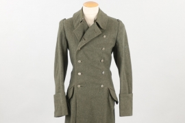 Waffen-SS M40 coat with missing insignia