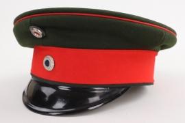 Bavaria - Chevauleger officer's visor cap