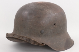 Heer M42 helmet with French sticker