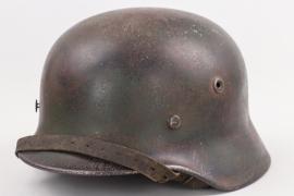 Wehrmacht M40 camo helmet - Q66