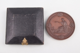Medal of the U.S. Centennial Commission 1876 in original box