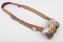 """Austria Ammunition pouch """"Kartuschkasten"""" for officers - 19th century"""