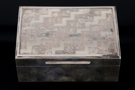 Silver table case around 1920