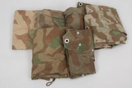 6 x M31 splinter camo shelter quarter (Wehrmacht)