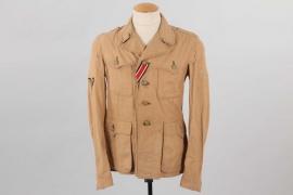Waffen-SS tropical Sahariani tunic