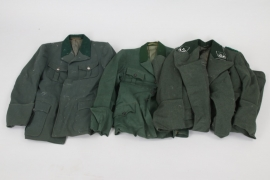 Forestry 3 service tunics