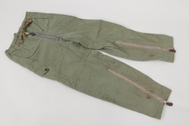 Luftwaffe summer flight trousers for 2-p suit