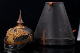 Prussia - Grenadier spike helmet one-year -olunteer case