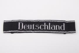 """Waffen-SS """"Deutschland"""" officer's cuff title - Flatwire"""