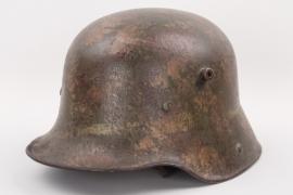 "WW1 German M16 helmet ""Mimikry"" - ET66"