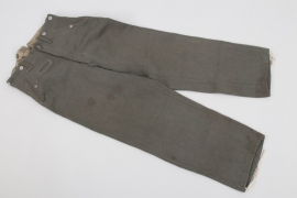 Heer / Waffen-SS M43 trousers for officers