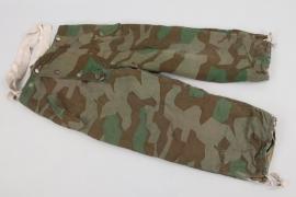 Wehrmacht reversible splinter camo winter trousers