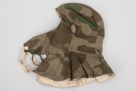 Wehrmacht splinter camo winter hood - Rb-numbered