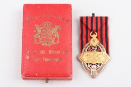 Wurttemberg - Fire Brigade Service Honor Decoration 1st Type
