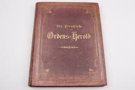 Book, der preußische Ordens-Herold - edition 1868