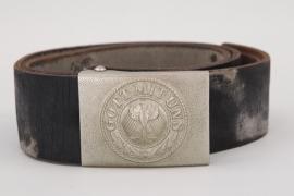 Lt. Tröger  - Reichswehr EM/NCO dress belt and buckle