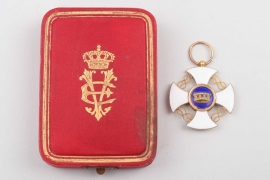 Italy - Order of the Crown of Italy, Knight Cross