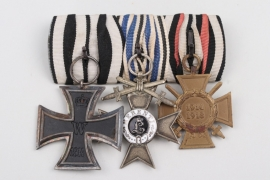 Medal bar of a brace Bavarian soldier