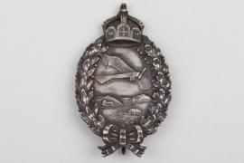 German Empire -  Pilot's Badge - cut-out crown