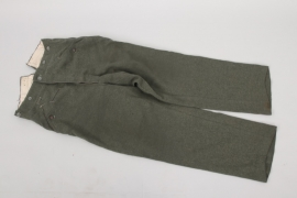 Heer M40 straight field trousers
