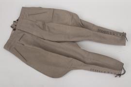 Heer stonegrey officer's breeches
