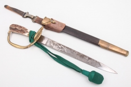 Forestry hunting dagger with knot - WKC