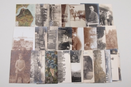 WWI lot of portrait & group photos