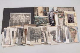 WWI lot of photos and postcards