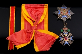 Brunswick - Order of Henry the Lion Grand Cross Set with Swords through the Middle