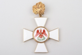 Prussia - Red Eagle Order Cross 2nd Class with Oak Leaves