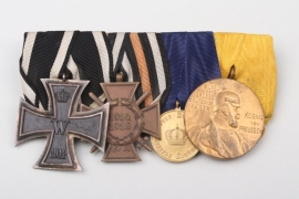Medal bars from a WWI Veteran
