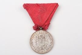 Serbia - 1877-1878 War - Medal for Zeal