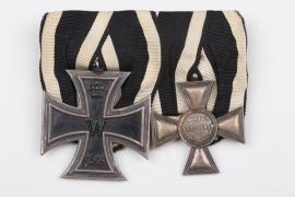 Navy Medal Bar with Military Merit Cross