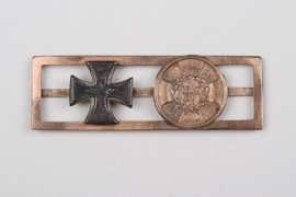Iron Cross 2nd Class, 1813 on Miniature Barrett