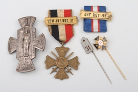 Medal Group - Inf. Rgt. 31