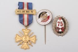 Bremen - Regimental Commemorative Cross and Society Pins