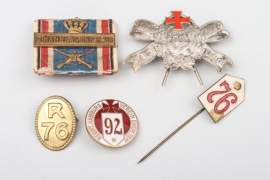 Medal Group - Inf. Rgt. 76, Hamburg