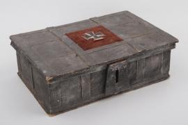 WWI patriotic case with 1914 Iron Cross