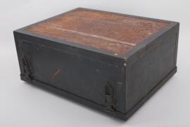 Enigma machine transport case