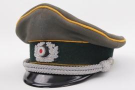 Heer Kavallerie officer's visor cap
