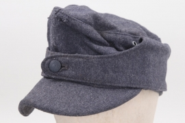 """Luftwaffe M43 field cap """"single button"""" - Rb-numbered"""