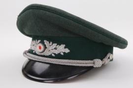 Forestry official's visor cap