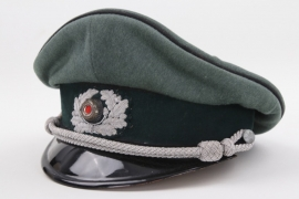 Heer Pionier officer's visor cap