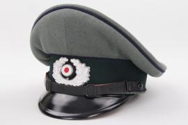 Heer medic's visor cap EM/NCO
