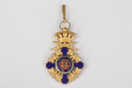 Romania - Order of the Star, Commander's Cross with Swords on Ring