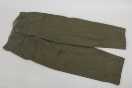 Heer M44 field trousers - Rb-numbered