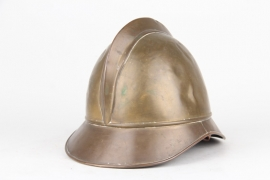 Imperial German fire brigade helmet for officers