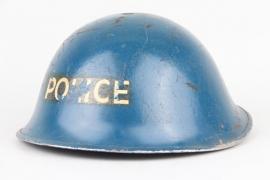Britischer Stahlhelm 1942 POLICE
