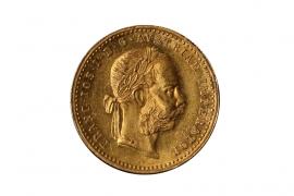 1 DUKAT 1884 - FRANZ JOSEPH I (ÖSTERREICH)